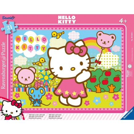 Puzzle Cadre Hello Kitty 31 Pieces