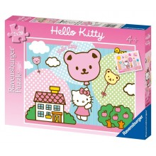 Puzzle double Hello Kitty (2 x 20 pièces)