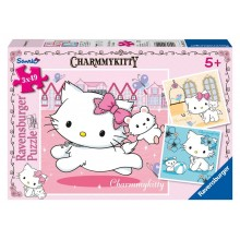 Puzzle triple Charmmy Kitty (3 x 49 pièces)