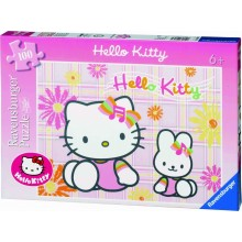 Puzzle XXL  Hello Kitty (100 pièces)