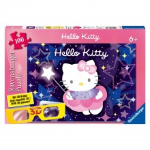 Puzzle XXL  3D  Hello Kitty (100 pièces)