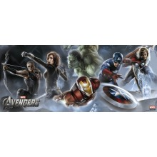 Puzzle XXL Panorama AVENGERS (200 pièces)