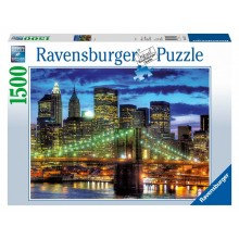 Puzzle Skyline New York City ( 1500 pièces )
