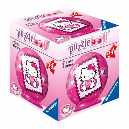 Puzzle 3D Hello Kitty  Puzzleball 54 pièces
