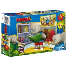 Puzzle Babar 2x30 pièces