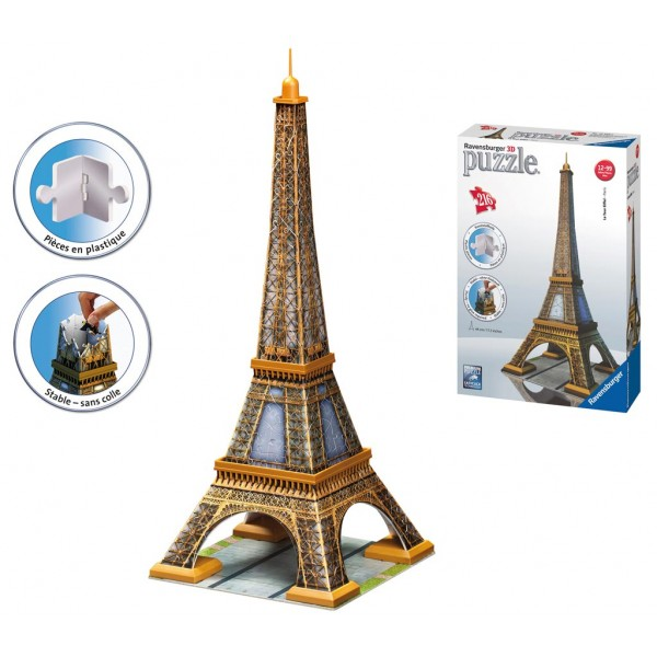 puzzle 3d tour eiffel. Black Bedroom Furniture Sets. Home Design Ideas