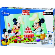 Puzzle MICKEY MOUSE  ( 45 pièces)